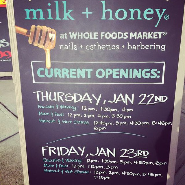 TGIF & thank goodness there are still openings avail! Boston, stop and stay awhile! @wfm_southend @wholefoodsmarket #regram